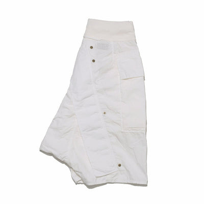 Rip-Stop SLEEPER DIAPER Shorts in White