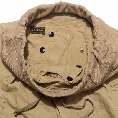 Rip-Stop SLEEPER DIAPER Shorts in Beige