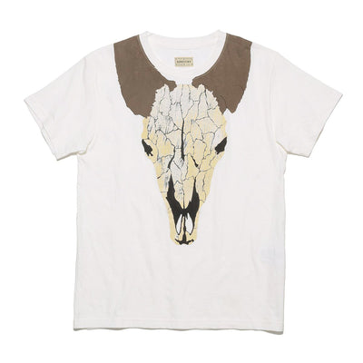 18.5/-Jersey Crew T (GIANT SHORT HORN) in Natural