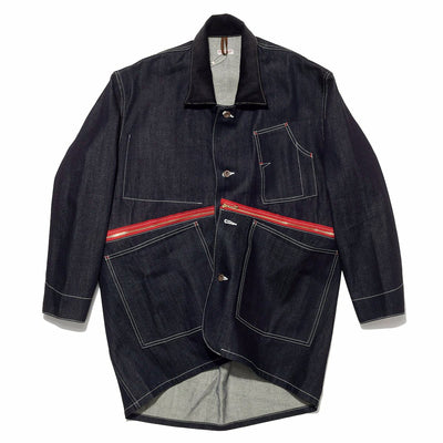 12oz Denim BURGER Resizing WORK Coverall