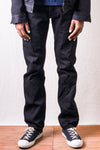ONI-515KIRAKU-ll-BK 12oz Black Semi Tight Straight