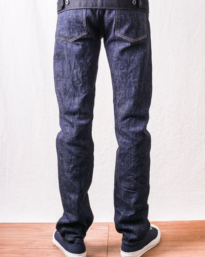 ONI-515KIRAKU-ll 12oz Natural Indigo Semi Tight Straight