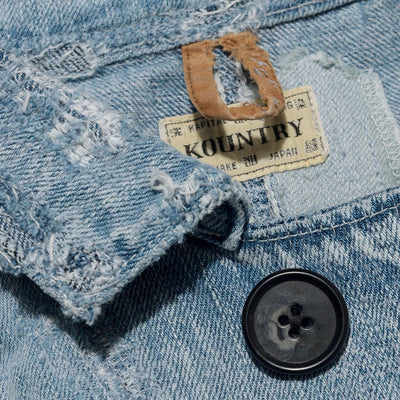 12oz×8oz Denim RINGOMAN Coverall (Crash Remake)