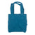 #6 Canvas Standard Tote (L) - Peacock Blue