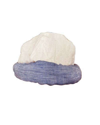 Linen The Old Man And The Sea Sailor Hat - Ecru