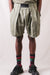 Linen PHILLIES Stripe EASY BEACH GO Shorts - Khaki