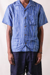 French Cloth Linen RAIN WABASH Dye Aloha Shirt