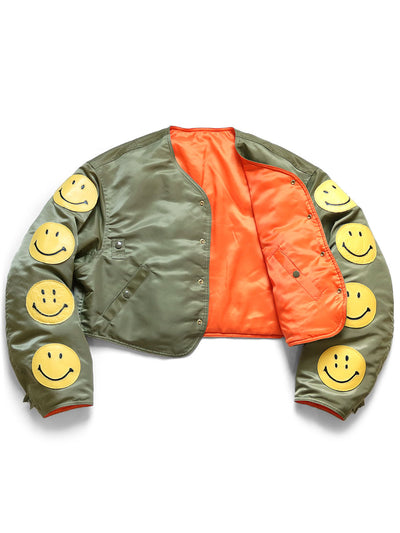 MA-1 Nylon FLIGHT Bolero (8 SMILES)
