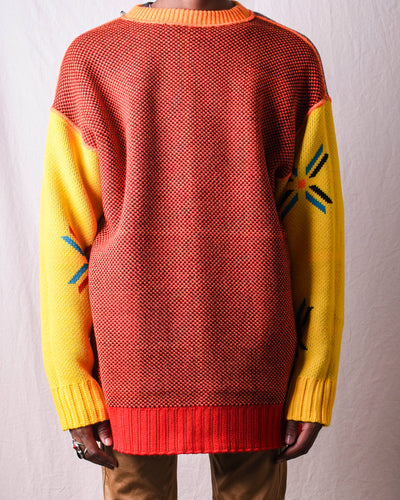 Reversible Oversized Sweater