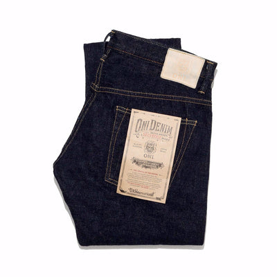 ONI-670LW-ID - 12oz American Tapered Super Low Tension Denim