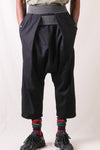 OX SHIMOKITA NORA-GI Pants - Black