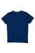 Natural Indigo Slub Jersey Short Sleeve T-shirt
