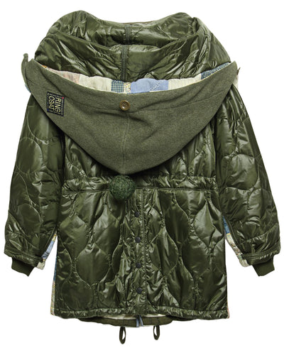 KOUNTRY American Quilt x Nylon Quilting BIVOUAC Ring Coat