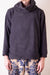 Reverse Fleece BIG High Neck Sweat - Black