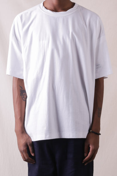 S/S Shirt N.Hoolywood x Sunspel - White