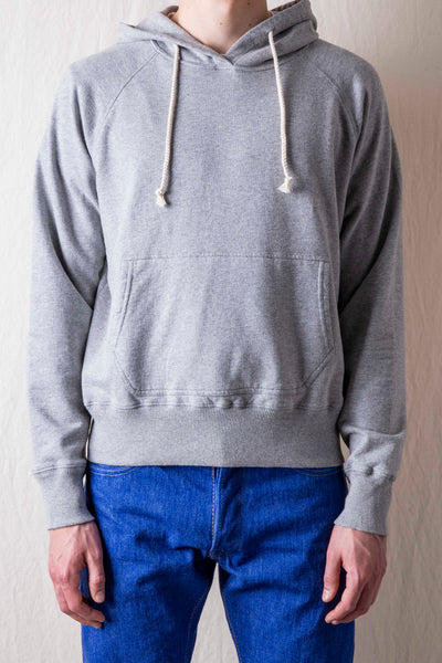 Base Hooded Sweatshirt - Grey Marl