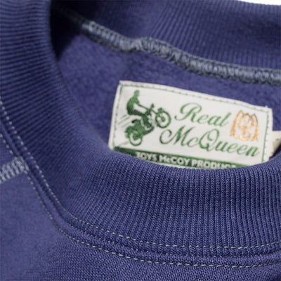 "Steve McQueen ""Great Escape"" Blue Sweatshirt"