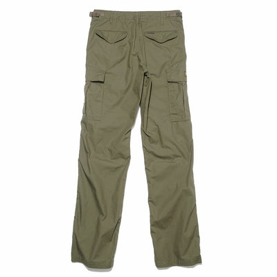 Military Cargo Ripstop Trousers - Olive