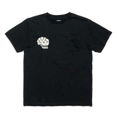 Embroidered T-Shirt in Black