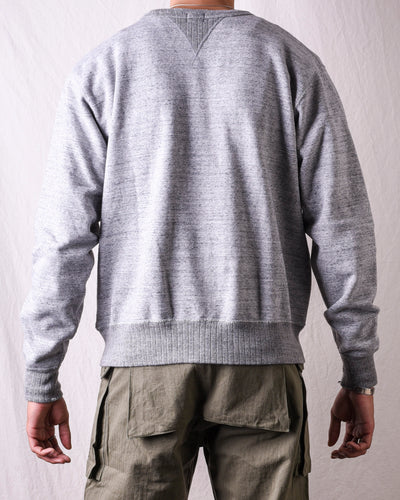 Whitesville Crew Sweatshirt - Heather Grey