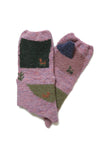 Wool GABBEH Mitten - Light Purple