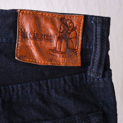 XX-019-WID 14oz Deep Indigo Relaxed Tapered (Blue In Green Exclusive Version)