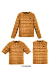 Crew Neck Down Set - D. Orange