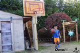 Custom Decorative Wood Basketball Hoop