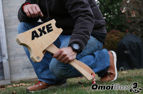 The Axe (Barbell Loading Jack, Removable Handle, Magnetic Closure)