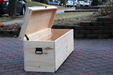 Extra Large Wooden Storage Chest/Bench