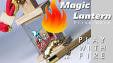 Interactive Magic Gold Lantern Charm