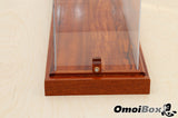 Solid Mahogany Display Case with Custom Holding Pins