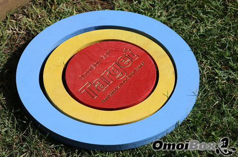 Wooden Target Rings for Golf Training