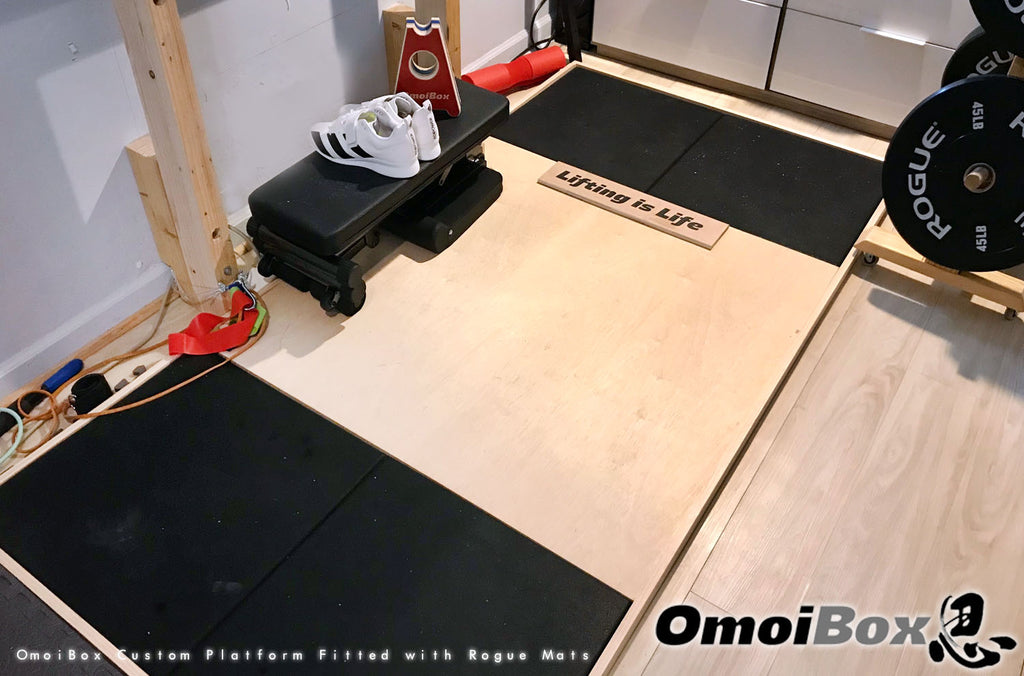 Personalized Lifting Platform, Weightlifting Platform, Deadlift Platform, Powerlifting Platform