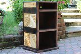Record Player / Receiver / 3 tier record holder Stand Rack *Custom Engraving