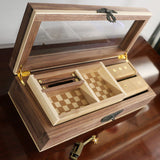 Walnut & Maple Jewelry Box
