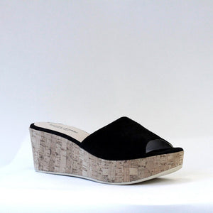 FASCIONE in BLACK SUEDE
