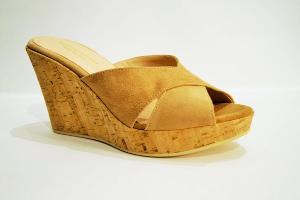 ANTIGUA in CAMEL SUEDE
