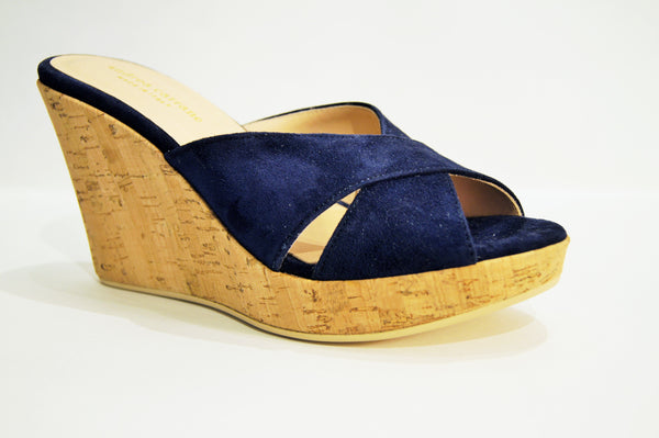ANTIGUA in NAVY SUEDE