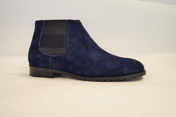 BEATLES NAVY SUEDE