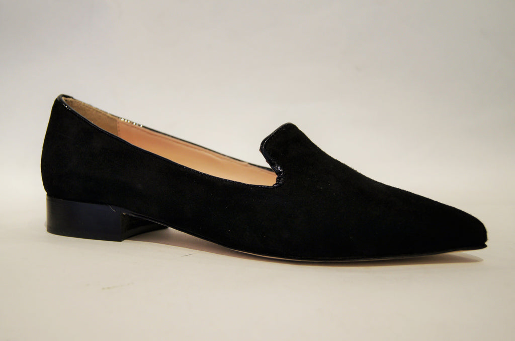 Arisa black suede