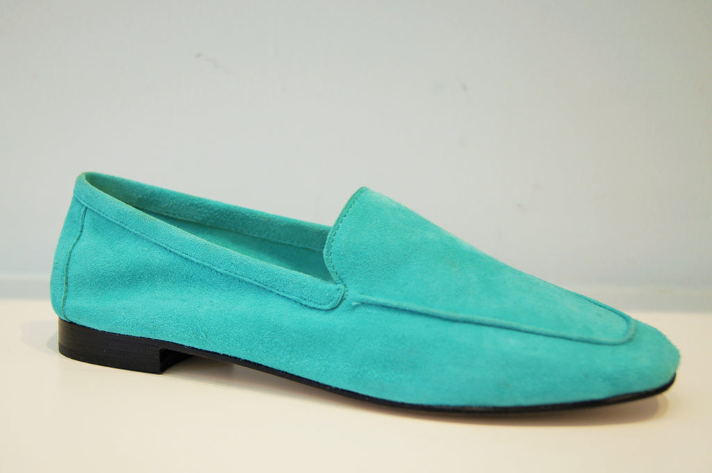 Mare Light Turquoise Suede