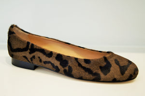 BABY LEOPARD PRINT HAIRCALF brown & black