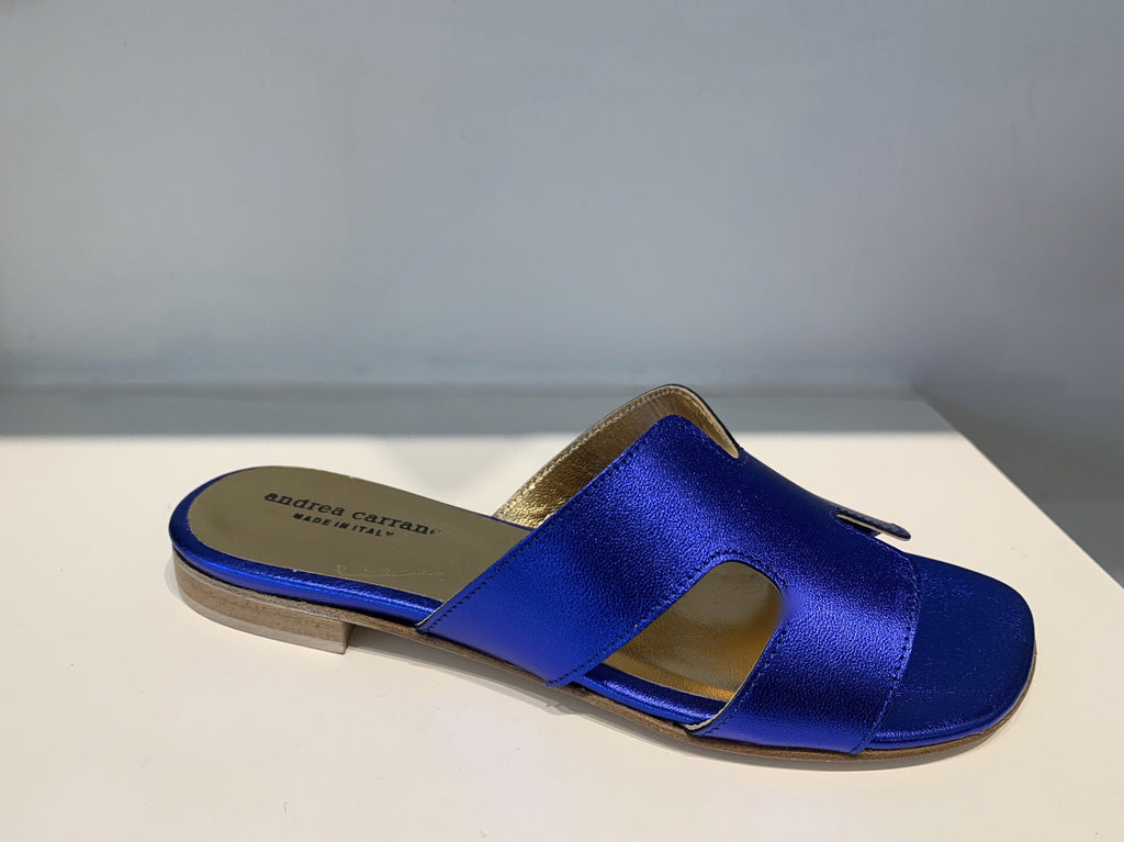 H SANDAL in COBALT BLUE