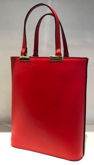 INGRID RED LEATHER