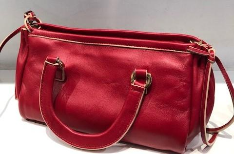 MARILYN RED LEATHER
