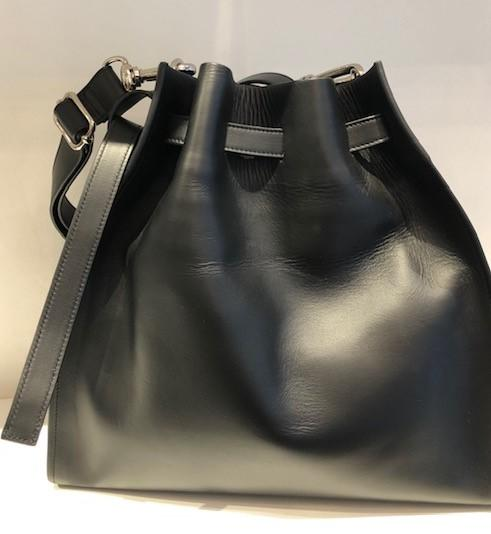 GRETA BLACK LEATHER