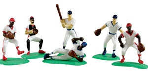 Baseball Team Cake Decor Topper