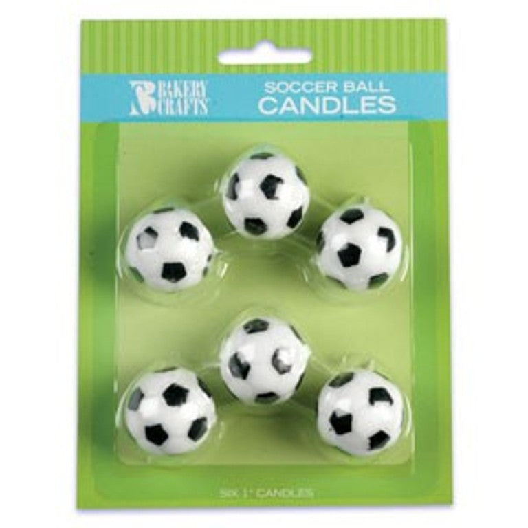 Soccer Ball Candle Set
