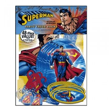 Superman Birthday Party Favor Pack.